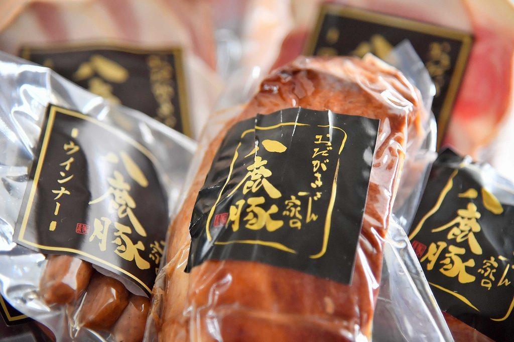 焼豚セット【ウインナー3種入り】